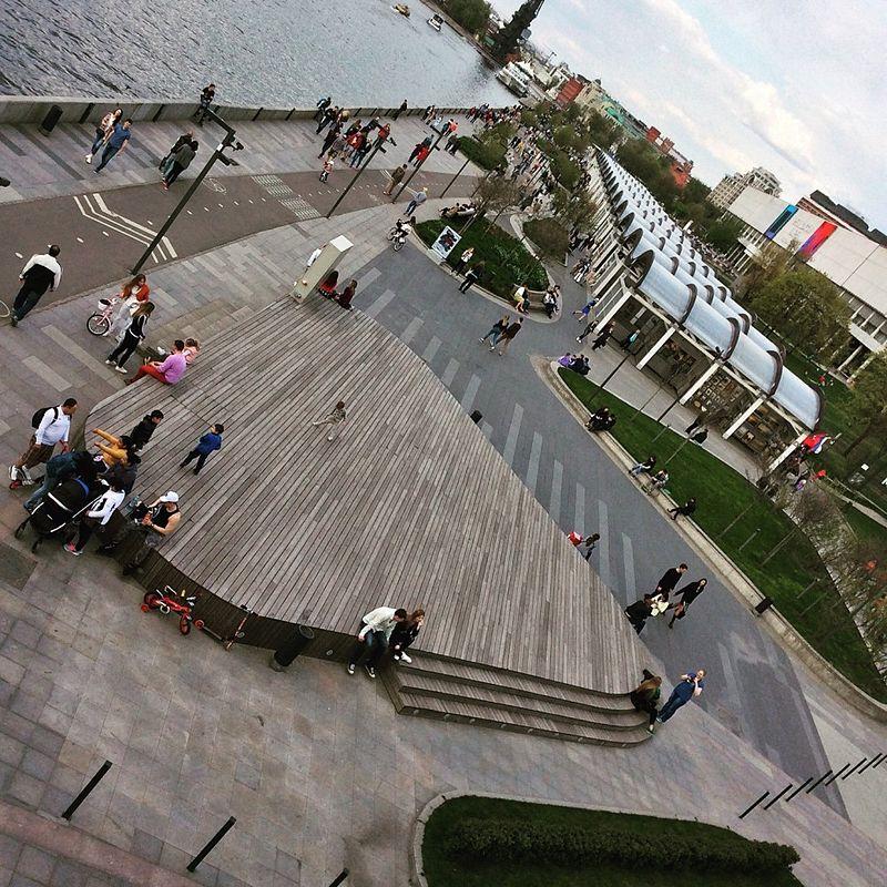 парк исскусств музеон в парке Горького набережная