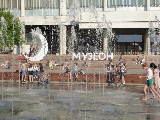 парк искусств музеон москва фонтаны